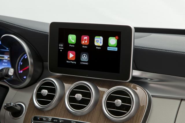 Foto de CarPlay Mercedes Benz Clase C (5/26)