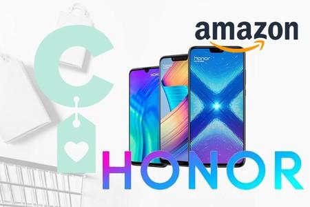Ofertas en smartphones en Amazon: Honor 10 y 20 Lite, Honor 8X y Honor Play a precios rebajados