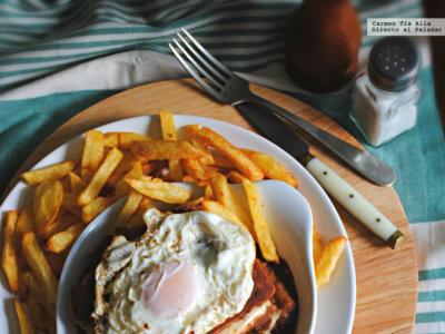 Francesinha o francesiña, un sándwich para hambrientos. Receta tradicional portuguesa