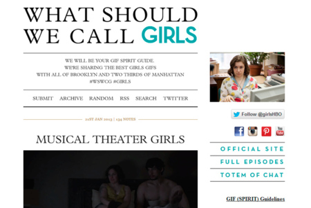 What should we call Girls, la serie de moda saca partido a las posibilidades de Tumblr