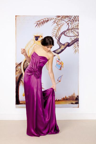 Foto de Vestidos largos de fiesta para bodas de tarde: luce como una celebritie (4/10)
