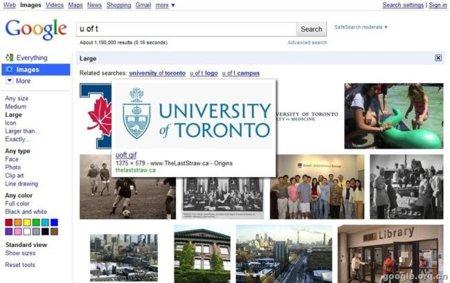 Google está probando una nueva interfaz para la búsqueda de imágenes