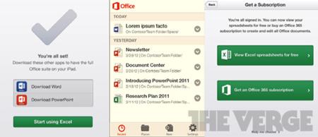 Microsoft Office finalmente llegará a iOS y Android a comienzos de 2013