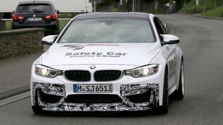 Supuesto BMW M4 GTS en el Nürburgring