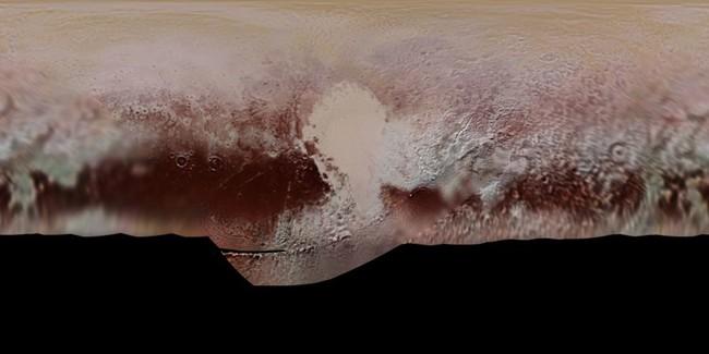 Así sería aterrizar en Plutón
