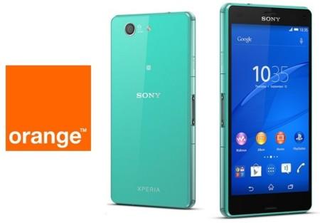 Precios Sony Xperia Z3 Compact con Orange