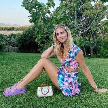 Nueve peinados súper sencillos de Chiara Ferragni con los que se suma a todas las tendencias de este verano