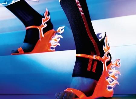 El street style anda sobre lenguas de fuego, y la culpa la tienen las nuevas plataformas de Prada