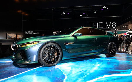 BMW M8 Gran Coupe Concept, el contraataque de Munich al Mercedes-AMG GT de cuatro puertas