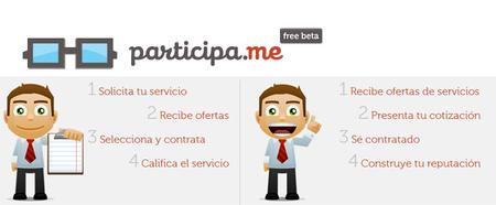 Participa.me: Bolsa de trabajo para freelancers en México