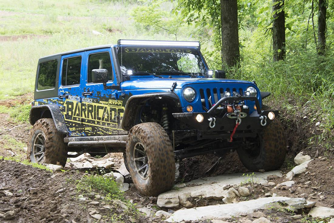 Foto de Jeep Wrangler Project Trail Force (6/19)
