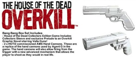 'House of the Dead: Overkill': pistolas Hand Cannon oficiales