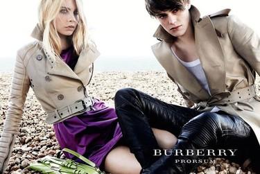 Burberry, campaña Primavera-Verano 2011 por Mario Testino