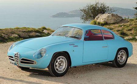 1958 Alfa Romeo Giulietta Zagato