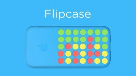 Flipcase, la forma más ingeniosa de aprovechar la funda del iPhone 5c
