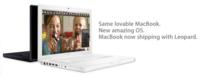 Actualización de los MacBooks: Nuevos procesadores y tarjeta gráfica Intel GMA3100