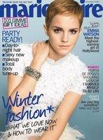 Emma Watson en la revista Marie Claire de diciembre 2010