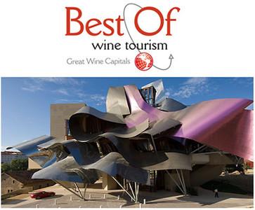 La Ciudad del Vino de las Bodegas Marqués de Riscal obtiene el premio Best Of...