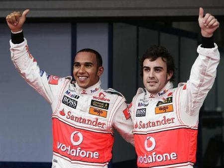 Lewis Hamilton y Fernando Alonso, los mejores sueldos de la Fórmula 1