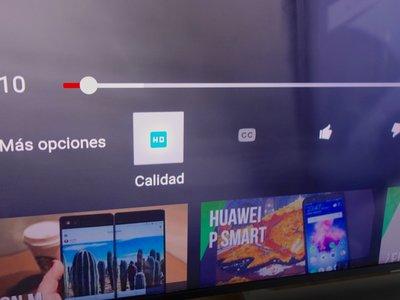 Youtube para Android TV por fin nos deja elegir manualmente la calidad de los vídeos