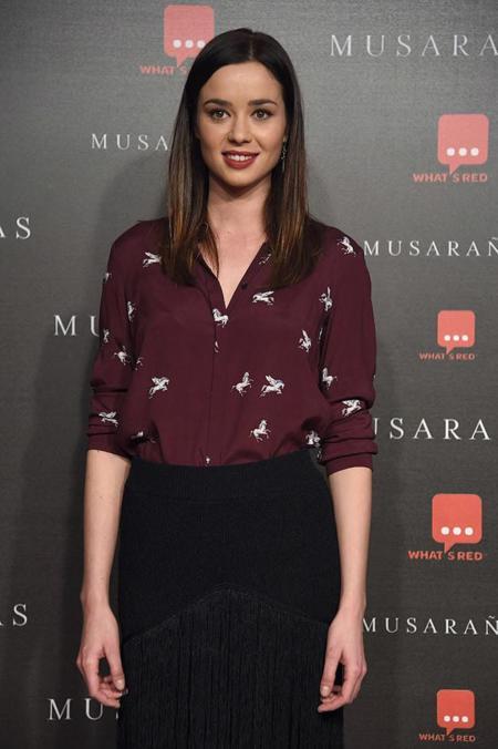 Dafne Fernandez, la estrella estrellada de la premiere de Musarañas