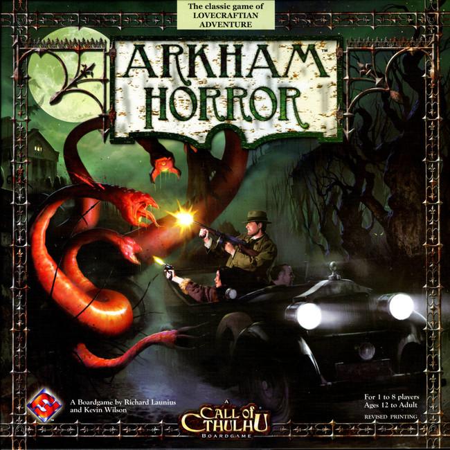 Portada de Arkham Horror
