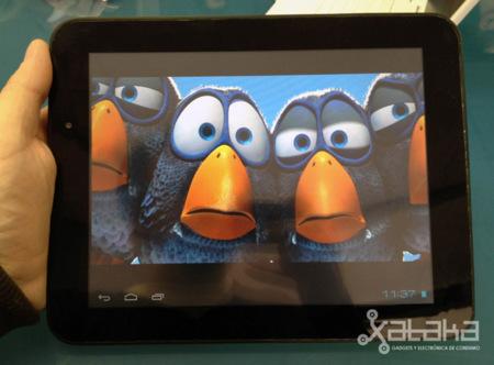 Airis OnePad 970, toma de contacto