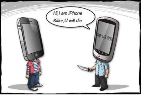 'Hola, soy el iPhone Killer y vas a morir'. Imagen de la semana