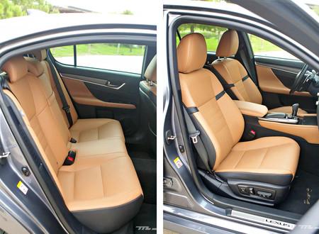 Lexus Gs300h F Sport Asientos