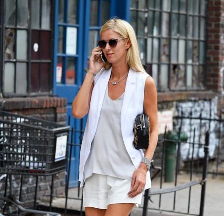 El mejor look para la vuelta al trabajo lo tiene una chica que nunca tendrá que trabajar: Nicky Hilton