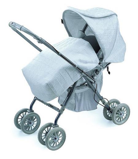 Fendi diseña carritos de bebé de alta costura