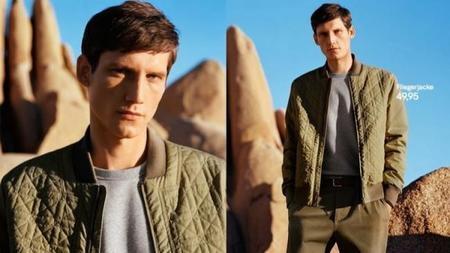 H&M lookbook men 2014 spring