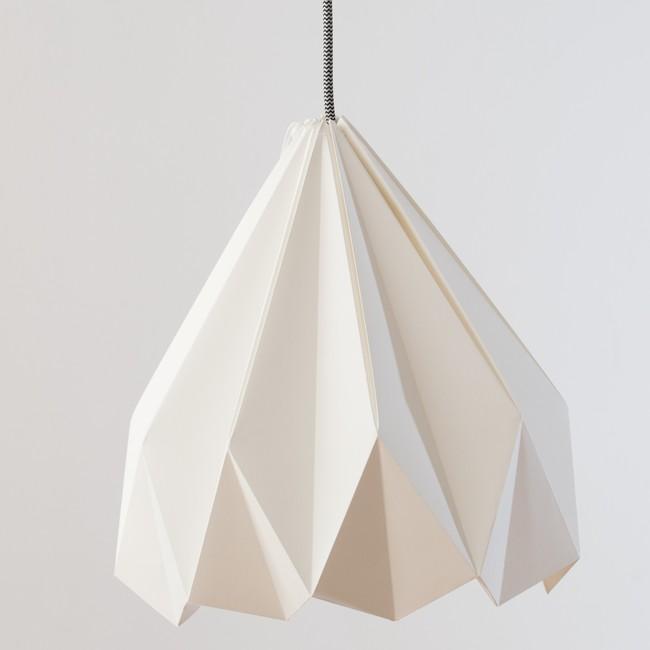 Luscofusco Blanca Lampara Diseno Origami Nordico Arquitectura Interiorismo