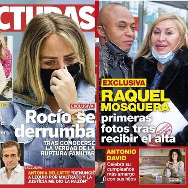 El derrumbamiento de Rocío Flores, en casa de Belén Rodríguez y el portadoncho de la sobrina de la reina Letizia: Estas son las portadas de la semana del 28 de abril