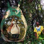 Anime y moda juntos en la nueva colección cápsula de Loewe inspirada en 'Mi vecino Totoro'
