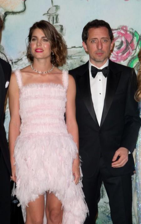 En el Baile de la Rosa, en 2013