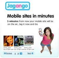 Jagango, sencilla herramienta para crear web para móviles