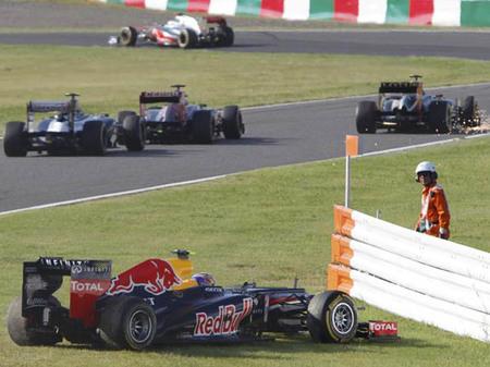 Mark Webber carga las tintas contra Romain Grosjean