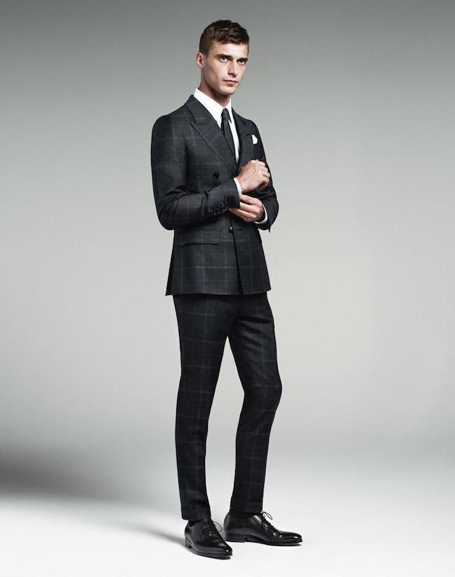 levas negro trajes