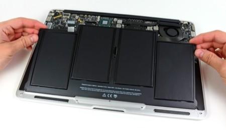 Mantenimiento de la batería de un portátil Mac