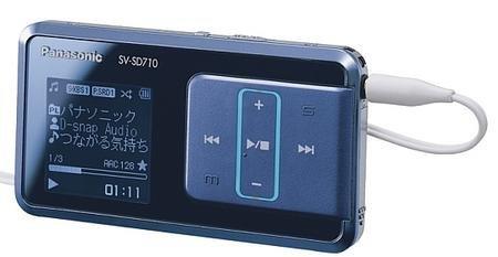 Nuevos reproductores D-Snap de Panasonic