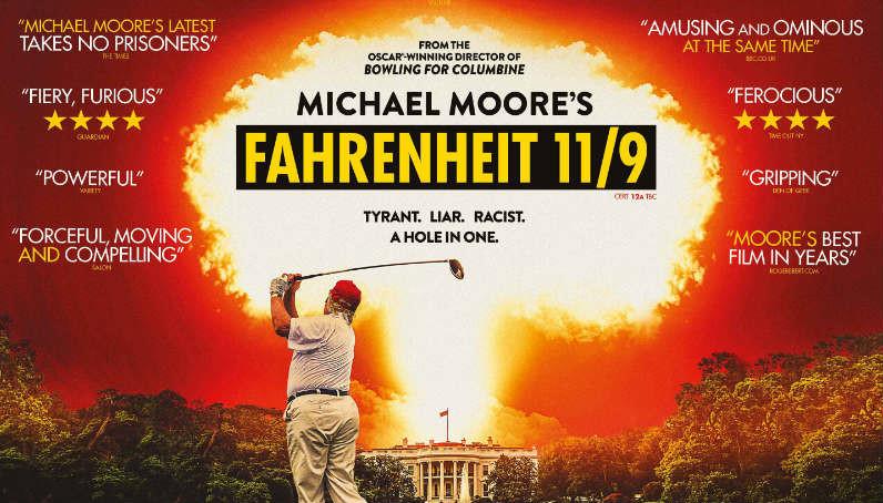 'Fahrenheit 11/9': Michael Moore vuelve para meter el dedo en la llaga de la América de Trump