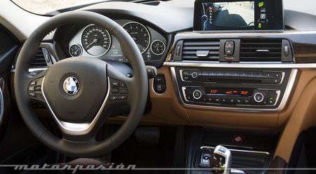BMW Serie 3 335i berlina interior presentación Madrid Motorpasión