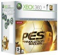 Pack XBox 360 con Pro Evolution Soccer 6