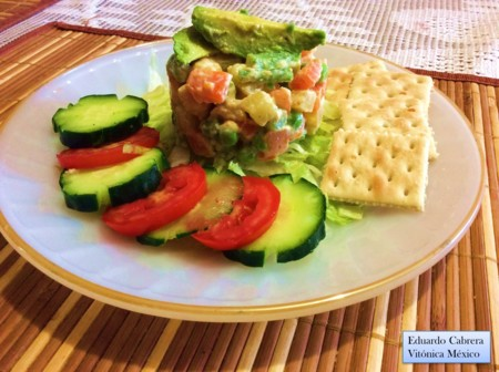 Receta saludable: Ensalada rusa 100 % vegana