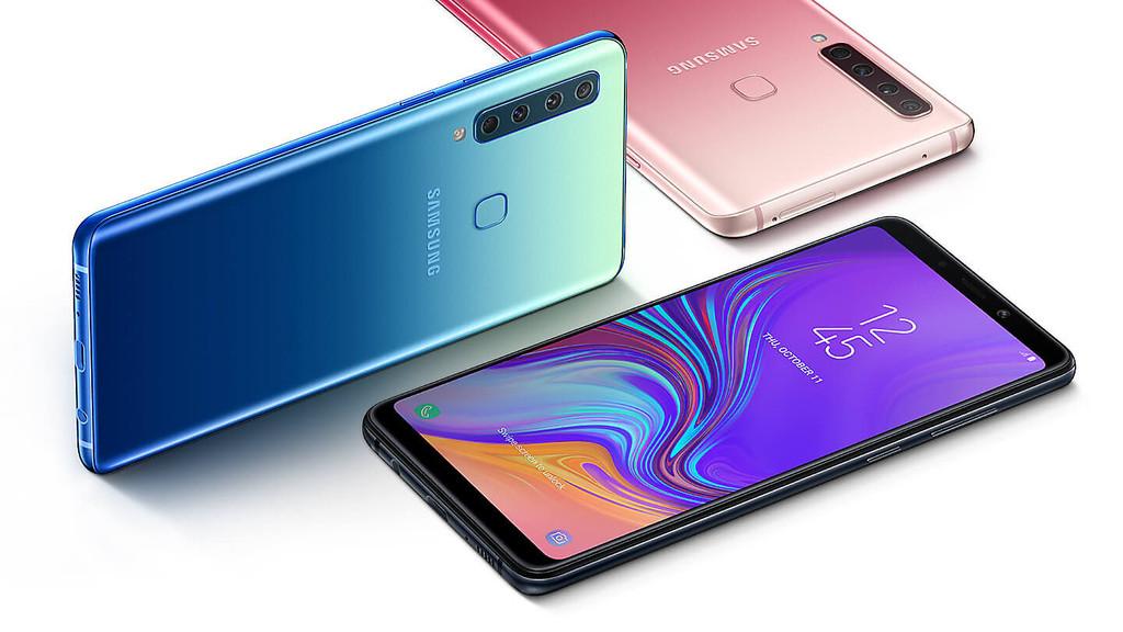 Samsung Galaxy A9 2018: el primer teléfono con cuatro cámaras a la espalda ofrece zoom óptico, desenfoque y gran angular