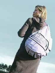 Bolso de bebé que no hace doler la espalda
