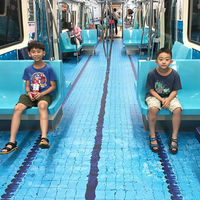 Desde una piscina hasta un campo de fútbol: el metro de Taipei es ahora una maravillosa sede deportiva