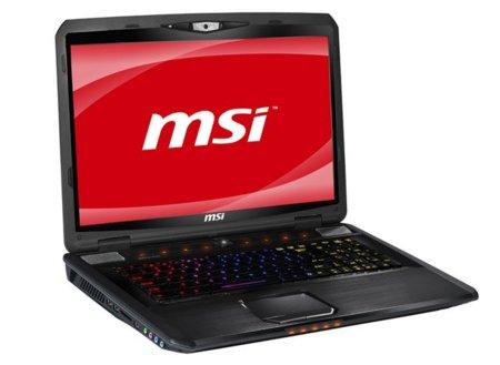 MSI GX780 Steelseries, el último portátil para videojuegos de MSI se viste de colores