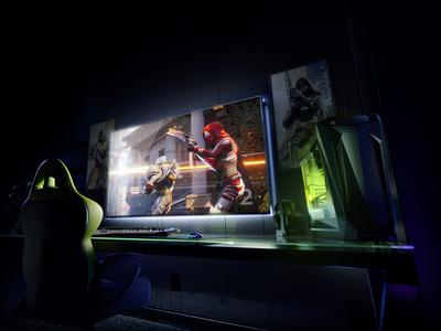 """Nvidia presenta monitor gamer 4K de 65"""" y 120Hz que además es Android TV y consola"""